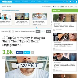 12 Top Community Managers Share Their Tips for Better Engagement