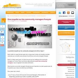 Une enquête sur les community managers français