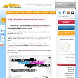 Etude sur les community managers français