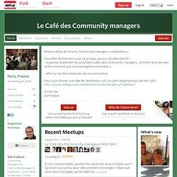 Café des Community managers (Paris) - Meetup.com