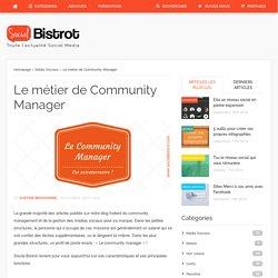 Le métier de Community ManagerSocial Bistrot