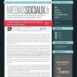 Le Community Manager : la nouvelle interface de la Relation Client sur les médias sociaux ?