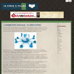 « Community manage » ta séduction.
