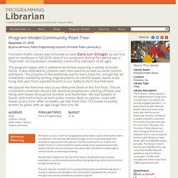 Community Poet-Tree