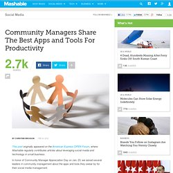 Community Managers Share The Best Apps and Tools For Productivity