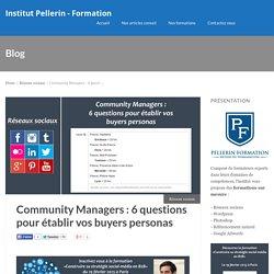 Community Managers : 6 questions pour établir vos buyers personas