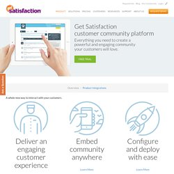Online Community Forum Software For Customer Feedback System