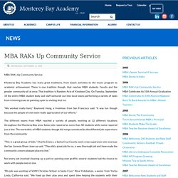 Monterey Bay Academy RAKs Up Community Service