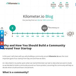 Why and How You Should Build a Community Around Your Startup