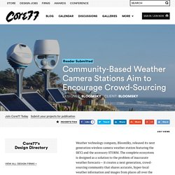 Community-Based Weather Camera Stations Aim to Encourage Crowd-Sourcing