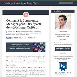 Comment le Community Manager peut-il tirer parti des statistiques Twitter