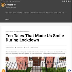 Ten Tales of the Community