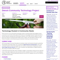 Detroit Community Technology Project
