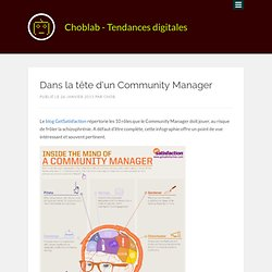 Dans la tête d'un Community Manager | Choblab - web 2.0, design, e-marketing, outils...