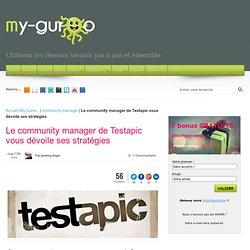 Le community manager de Testapic vous dévoile ses stratégies