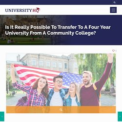 Community College Transfer - Credits Transfer, Can You Really Transfer
