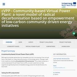 cVPP - Community-based Virtual Power Plant