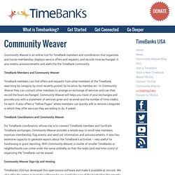 Community Weaver