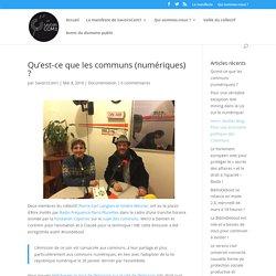 Communs (numériques) définition– SavoirsCom1