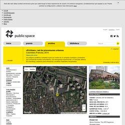 «R-Urban»: réseau de communs urbains: Colombes (Francia), 2014