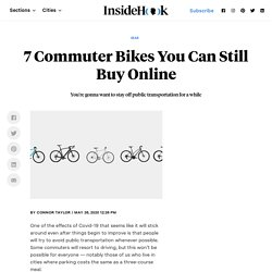 7 Commuter Bikes You Can Still Buy Online