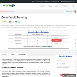 CommVault Training