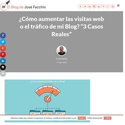¿Cómo aumentar las visitas web o el tráfico de mi Blog?
