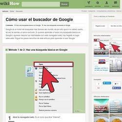 Cómo usar el buscador de Google: 15 pasos