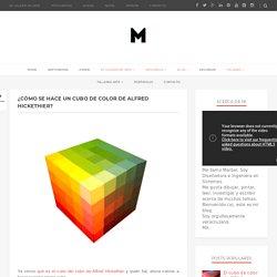 ¿Cómo se hace un cubo de color de Alfred Hickethier?