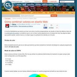 Cómo combinar colores en diseño Web