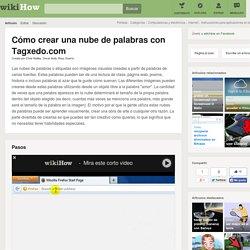 Cómo crear una nube de palabras con Tagxedo.com