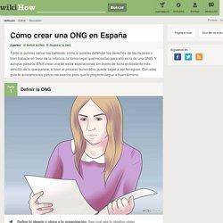 Cómo crear una ONG en España: 9 pasos