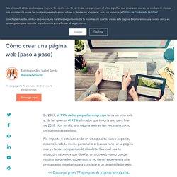 Cómo crear una página web (paso a paso)