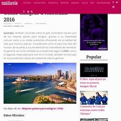 Cómo emigrar a Australia 2016