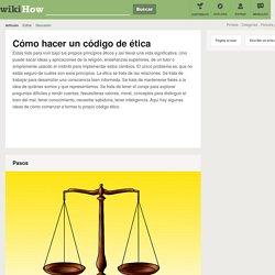 Cómo hacer un código de ética: 7 pasos