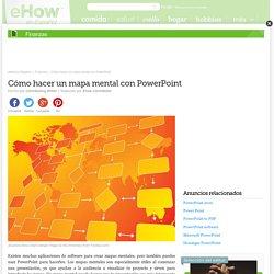 Cómo hacer un mapa mental con PowerPoint