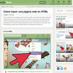 Cómo hacer una página web en HTML: 10 pasos