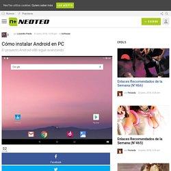 Cómo instalar Android en PC