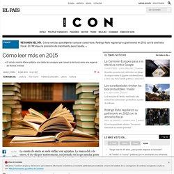 Cómo leer más en 2015