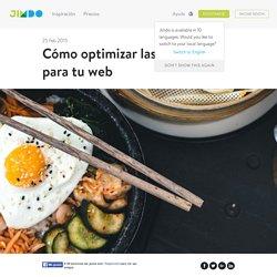 Cómo optimizar las imágenes para tu web - Jimdo