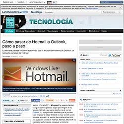 Cómo pasar de Hotmail a Outlook, paso a paso