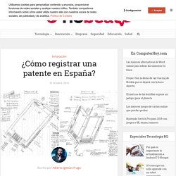 ¿Cómo registrar una patente en España?