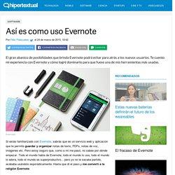 Cómo usar Evernote