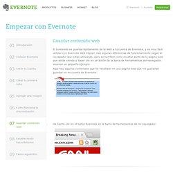 Introducción a Evernote
