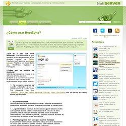 ¿Cómo usar HootSuite?