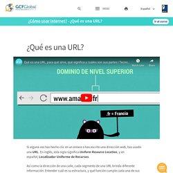 ¿Cómo usar internet?: ¿Qué es una URL?