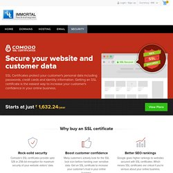 Comodo Digital SSL Certificates