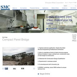 Compact Panel Bridge - Shanghai Metal Corporation