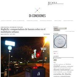 BigBelly: compactadora de basura solar en el mobiliario urbano