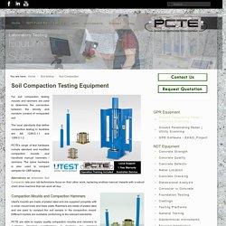 Soil Compaction Testing Equipment